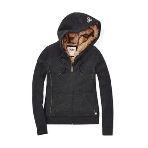 Aritzia TNA Pacific Faux Fur Lined Hoodie